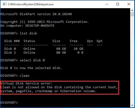 how to format hard drive completely erase mbr using diskpart